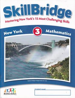 Image for Skillbridge: New York 3 Mathematics (Mastering New York's 15 Most Challenging Skills)
