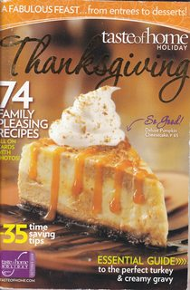 Image for TASTE OF HOME HOLIDAY - THANKSGIVING (VOL 1 NUMBER 5)