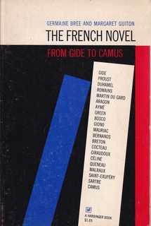 Image for The French Novel from Gide to Camus