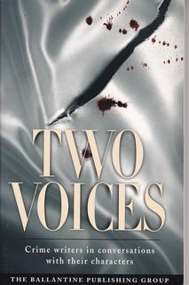 Image for Two Voices: Crime Writers in Conversations with Their Characters