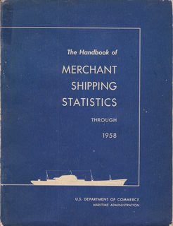 Image for The Handbook of Merchant Shipping Statistics Through 1958