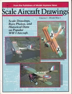 Image for Scale Aircraft Drawings: World War I