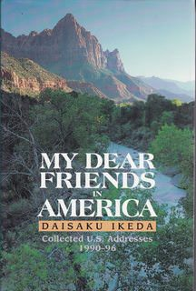 Image for My Dear Friends in America: Collected U.S. Speeches