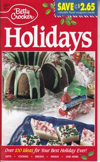 Image for Betty Crocker HOLIDAYS! Over 100 Creative recipes for your best holidays ever ( #87 )