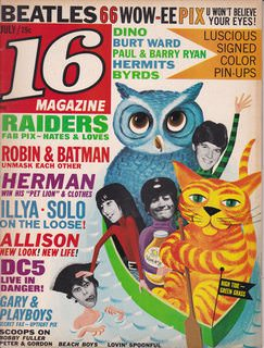 Image for 16 MAGAZINE-----JULY 1966 ISSUE
