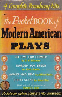 Image for The Pocket Book Of Modern American Plays