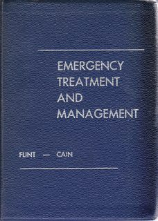 Image for Emergency Treatment and Management