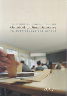 Image for Guidebook to Direct Democracy in Switzerland and Beyond 2007