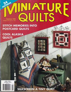 Image for Miniature Quilts Summer 1994 (Volume 4 Issue 2)
