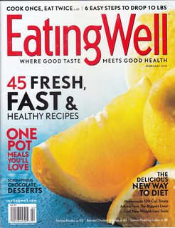 Image for Eating Well Magazine (45 Fresh Fast & healthy Recipes, February 2011)