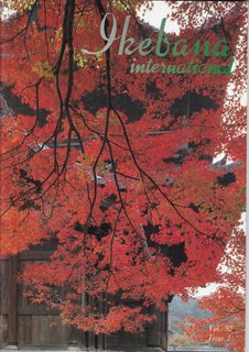 Image for Ikebana International Magazine Vol. 32 Issue 1, Publication No. 80 (1988)