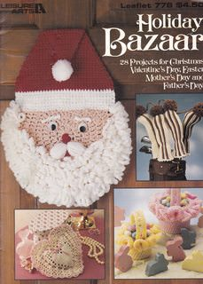 Image for Holiday Bazaar: 28 Projects to Knit & Crochet (Leisure Arts #778 Craft Book)