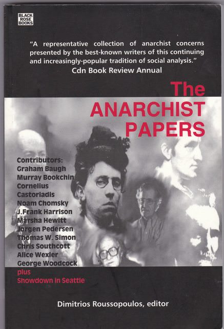Image for THE ANARCHIST PAPERS