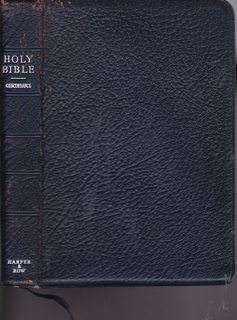 Image for The Holy Bible Containing the Old and New Testaments: Translated Out of the Original Tongues; and with the Former Translations Diligently Compared and Revised By His Majesty's Special Command. Appointed to be Read in Churches. Authorized King James Versio