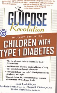 Image for The Glucose Revolution Pocket Guide to Children with Type 1 Diabetes