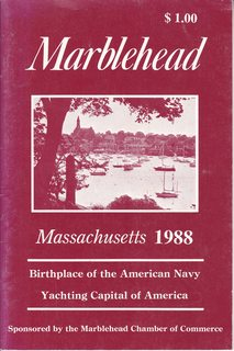 Image for Marblehead Massachusetts 1988: Birthplace of the American Navy/ Yachting Capital of America