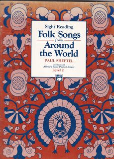 Image for Sight Reading Folk Songs from Around the World, Level 2