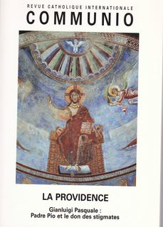 Image for Revue Catholique Internationale Communio: La Providence Tome XXVII #4 2002