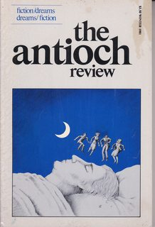 Image for The Antioch Review Vol 39 #1 Winter 1981 fiction/dreams dreams/fiction