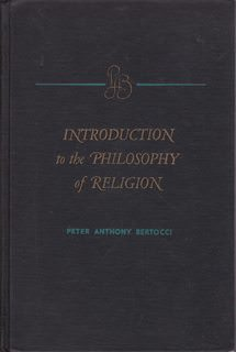 Image for Introduction to the Philosophy of Religion