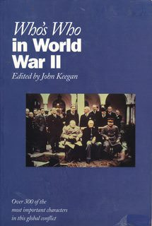 Image for Who's Who in World War II (Who's Who Series)