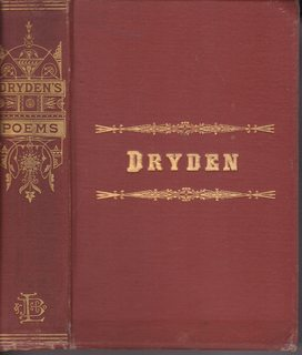 Image for The Poetical Works of John Dryden with Memoir and Introductions to Poems (Illustrated)
