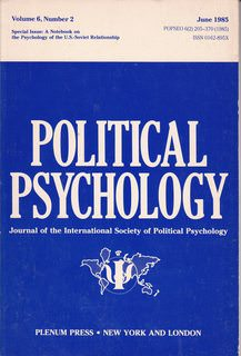 Image for Political Psychology (Journal of the International Society of Political Psychology, Volume 6, Number 2)