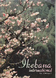 Image for Ikebana International, Vol. 33, Issue 2, 1989