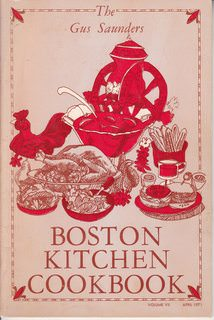 Image for The Gus Saunders Boston Kitchen Cookbook Volume VII, April 1971