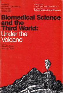 Image for Biomedical science and the Third World: Under the volcano (Annals of the New York Academy of Sciences)