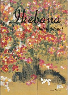 Image for Ikebana International, Issue No. 56