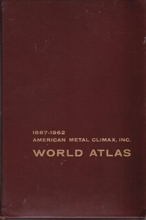 Image for American Metal Climax, Inc. World Atlas