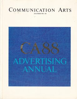 Image for Communication Arts - December 1988 - CA88 Advertising Annual