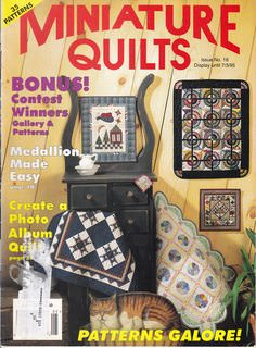 Image for Miniature Quilts Issue No. 18