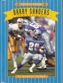 Image for Barry Sanders: Lion With a Quiet Roar (Sports Stars)