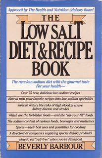 Image for The Low Salt Diet and Recipe Book