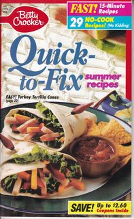 Image for Betty Crocker Quick-to-Fix Summer Recipes, No. 94, July 1994