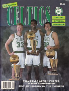 Image for Boston Celtics 1991-92 Official Yearbook