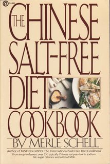 Image for The Chinese Salt - Free Diet CookBook