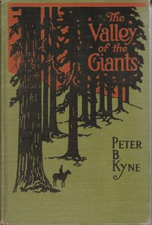 Image for The Valley of the Giants. [A story in the land of the redwoods in California].