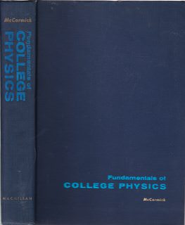 Image for Fundamentals of college physics