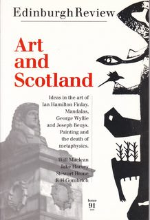 Image for Edinburgh Review Issue 91 Winter/ Spring 1994: Art and Scotland