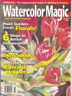 Image for Watercolor Magic Magazine Winter 1996 - Secrets to Successful Watercolor, 6 Ways to Energize Paintings with Splatter, Our Guide to Color