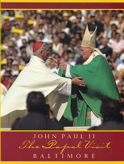 Image for The papal visit : Pope John Paul II Baltimore