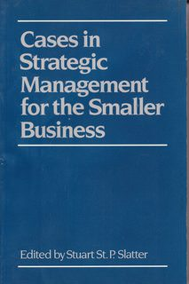 Image for Cases in Strategic Management for the Smaller Business