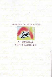 Image for Reading Reflections a Journal for Teachers