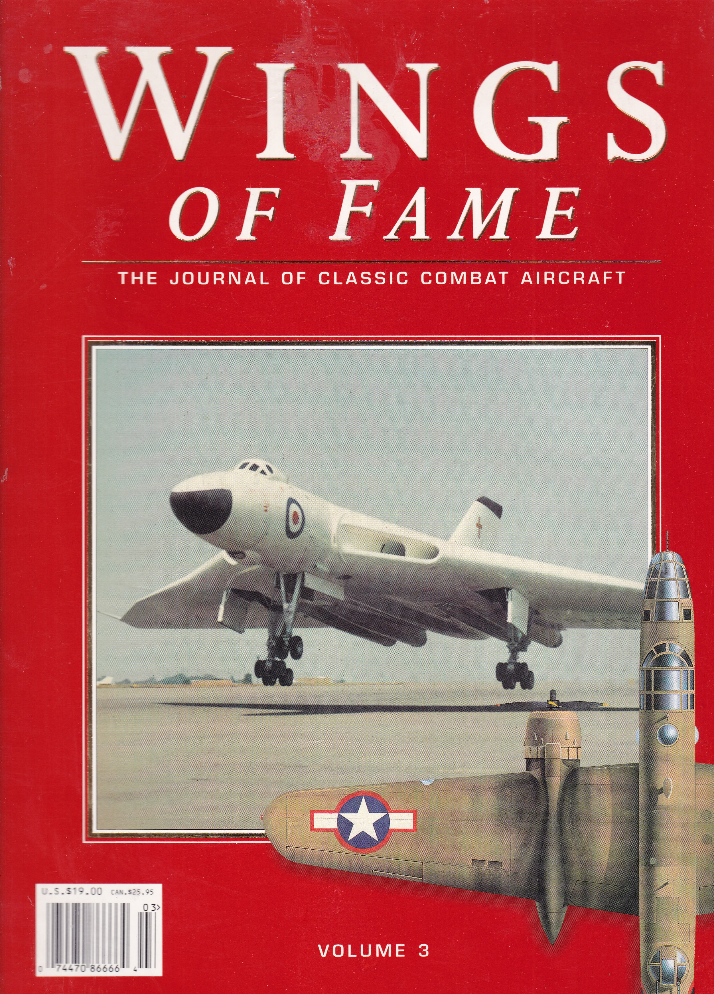 Image for Wings of Fame, The Journal of Classic Combat Aircraft - Vol. 3