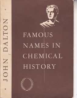 Image for Famous Names In Chemical History: John Dalton