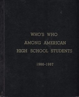 Image for Who's Who Among High School Students, 1986-1987 (21nd Edition Vol. VII only)