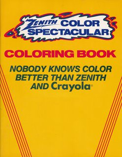 Image for Zenith Color Spectacular Coloring Book